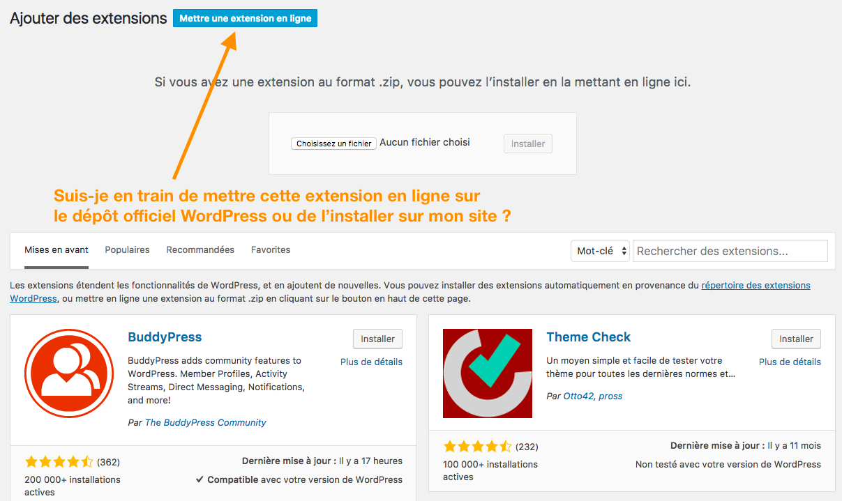Fran ais blog wordpress - Metre en ligne ...